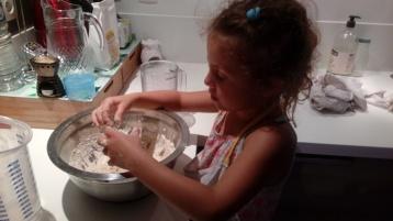 de retour de l'atelier pain